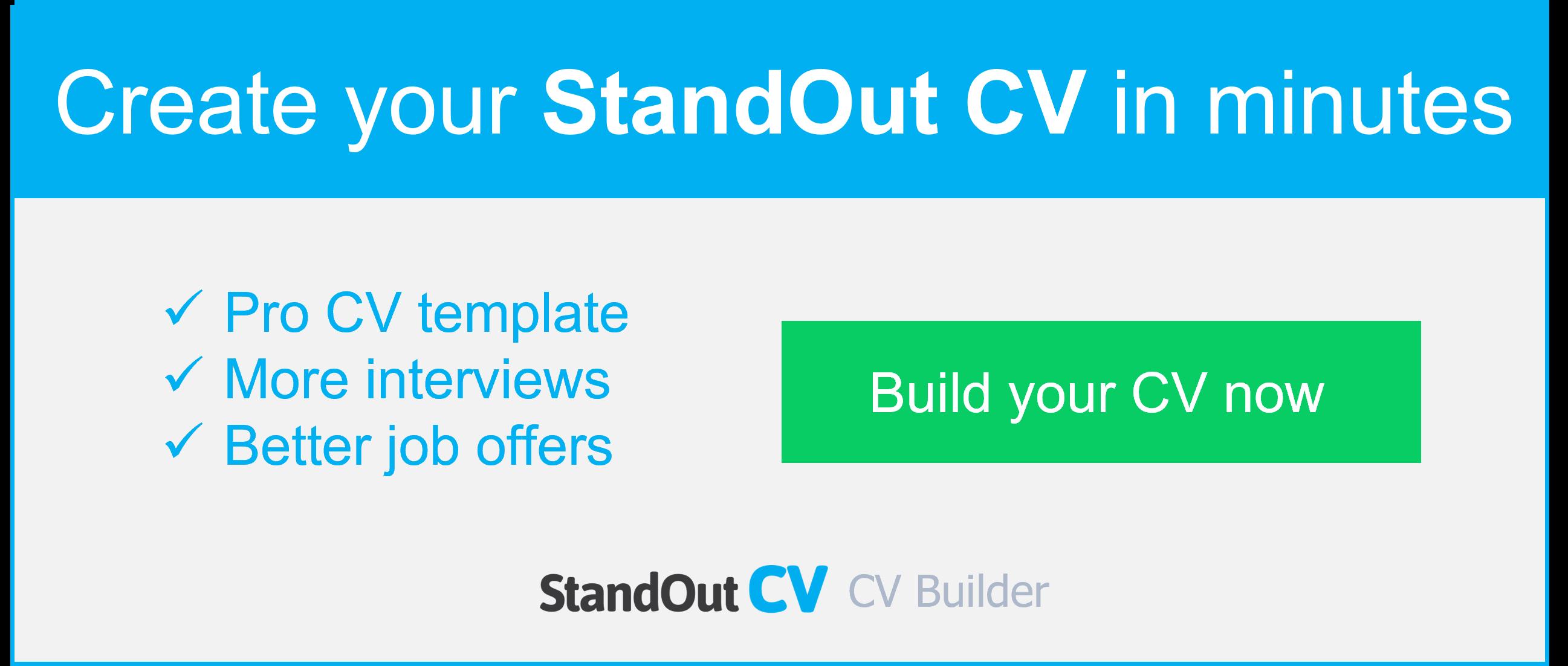 CV builder